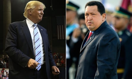 Both Trump and Chávez had their own TV shows.