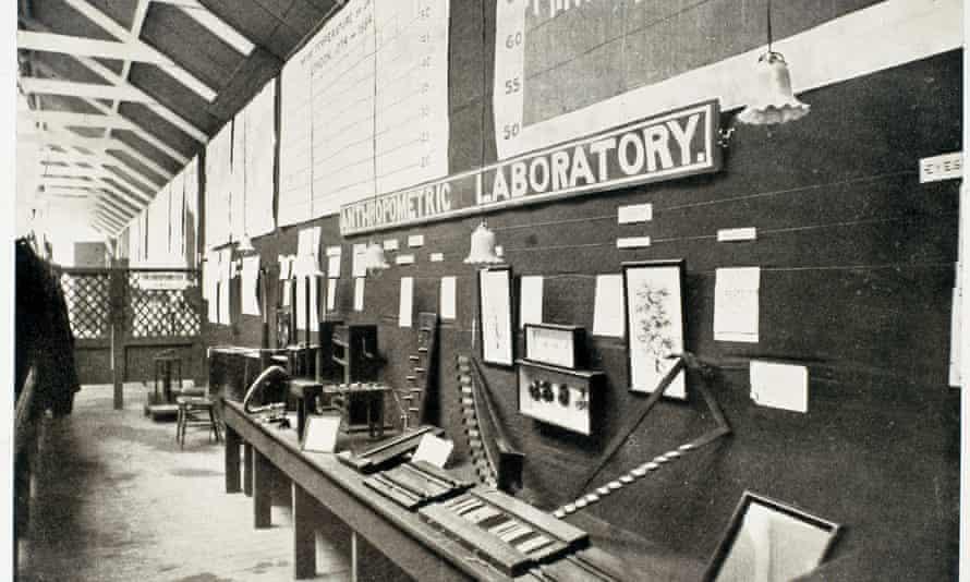 Francis Galton's first anthropometric laboratory, c1885.