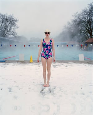 East London Swimmers by Madeleine Waller