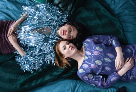Shawkat, left, with Holliday Grainger in Animals