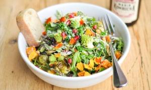 Salad bowl at Blue Barn