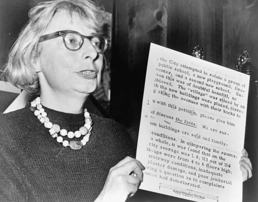 'Battle for the soul' of New York: Jane Jacobs, from the documentary film Citizen Jane.