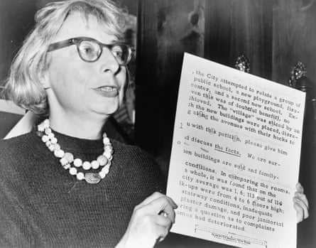 Journalist and urban activist Jane Jacobs, from the documentary film Citizen Jane: Battle for the City by Dogwoof.
