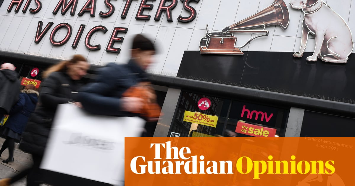 Thank you for the music, HMV, but we don't need you any more