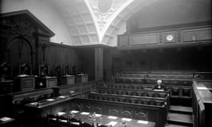 An undated picture of the Old Bailey criminal court in London.