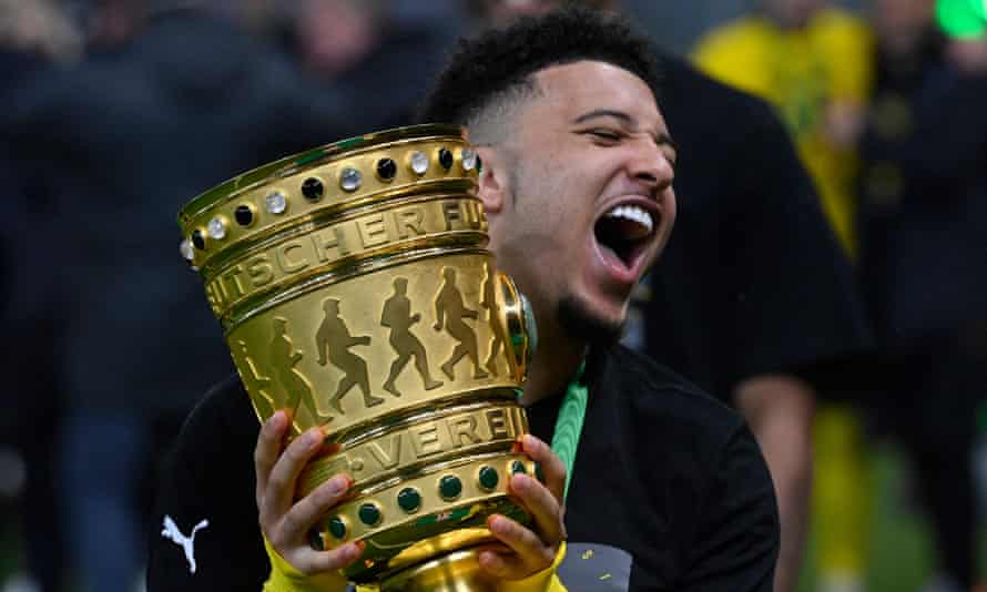 Dortmund and England's Jadon Sancho is on Manchester United's wanted list.