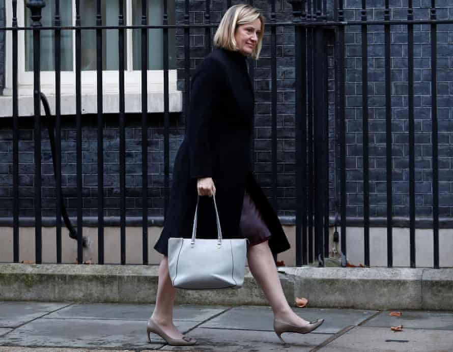Amber Rudd, work and pensions secretary.