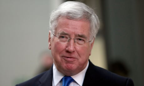 EU should avoid duplicating Nato, says Michael Fallon