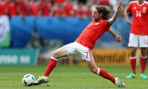 Wales' Joe Allen