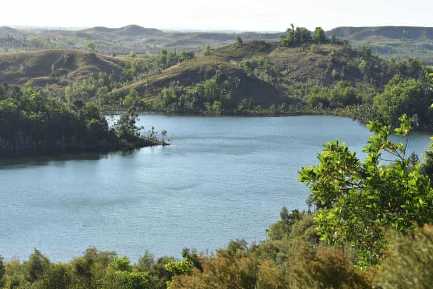 Lake Rasoabe, Pangalanes, Madagascar
