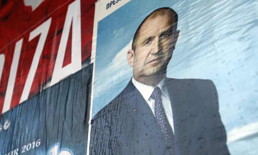 Rumen Radev poster