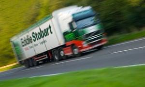 An Eddie Stobart truck