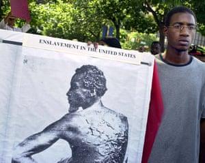 Avenging the Ancestors demonstration