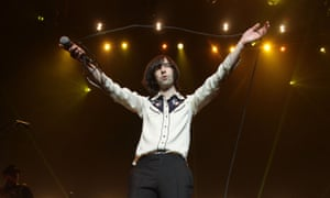 Teenage Cancer Trust concert - London<br>Bobby Gillespie of Primal Scream on stage during their Teenage Cancer Trust gig, at the Royal Albert Hall in London. PRESS ASSOCIATION Photo. Picture date: Thursday March 21, 2013. Photo credit should read: Yui Mok/PA Wire
