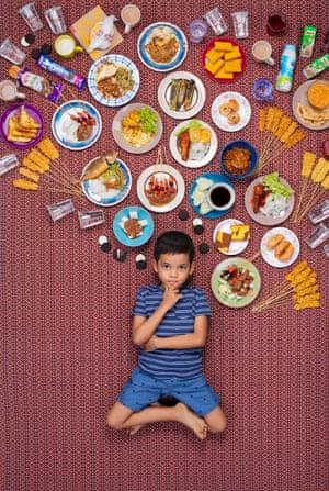 Altaf Rabbal DLove Bin Roni aged 6, Gombak, Malaysia