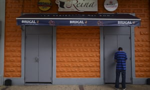 A restaurant is closed during a government imposed curfew aimed at curbing coronavirus cases that has shuttered all non-essential businesses for two weeks in San Juan, Puerto Rico, Thursday, 19 March 2020.