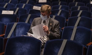Rep. Scott Tipton during a hearing of the House of Representatives Financial Services Committee yesterday
