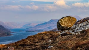Second prizeClifftop bowling overlooking Loch Maree, in Wester Ross in the north-west Highlands of Scotland, by Emma Smith