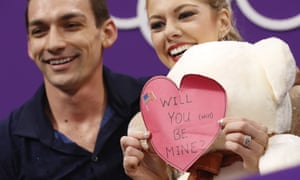 Alexa Scimeca Knierim and Chris Knierim are one of the married couples competing at the Winter Games.