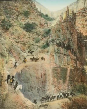 Jacob's Ladder, 2255 Feet Below the Rim, 1913; from the book The Grand Canyon of Arizona, 1913