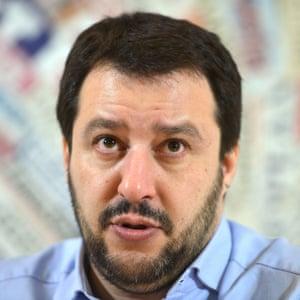 Matteo Salvini, federal secretary of Lega Nord