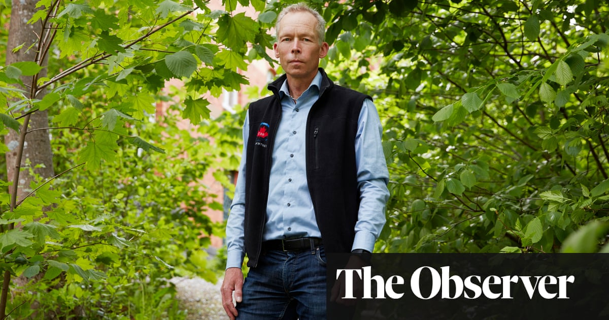 Johan Rockström: 'We need bankers as well as activists… we have 10 years to cut emissions by half'