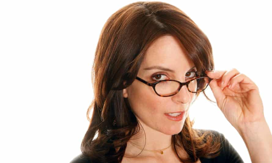 A gift for frothing neurosis … comedian Tina Fey.