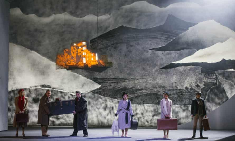 Figaro Gets a Divorce, 2016, designed by Ralph Koltai for Welsh National Opera.