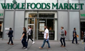 Whole Foods said in the filing it sought $45 per share from Amazon but settled for $42 per share.