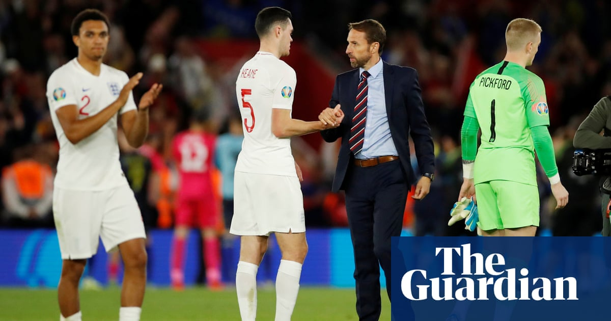 Gareth Southgate: England were both 'outstanding' and 'poor' against Kosovo – video