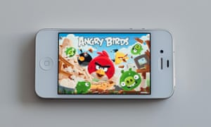 Angry Birds on iPhone