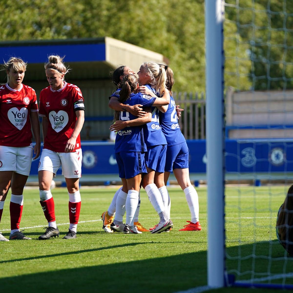 Chelsea 9 0 Bristol City Women S Super League As It Happened Football The Guardian