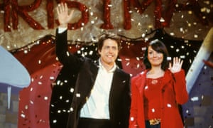 The way they were … Hugh Grant and Martine McCutcheon in Love, Actually.