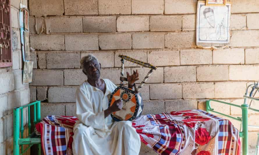Abu Obaida Hassan at his home on the outskirts of Omdurman, December 2017