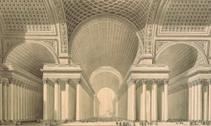 Project for a metropolitan cathedral in the form of a Greek cross with a domed centre. Etienne-Louis Boulée, 1782 Disappear Here: On perspective and other kinds of space at RIBA 2 May - 7 October