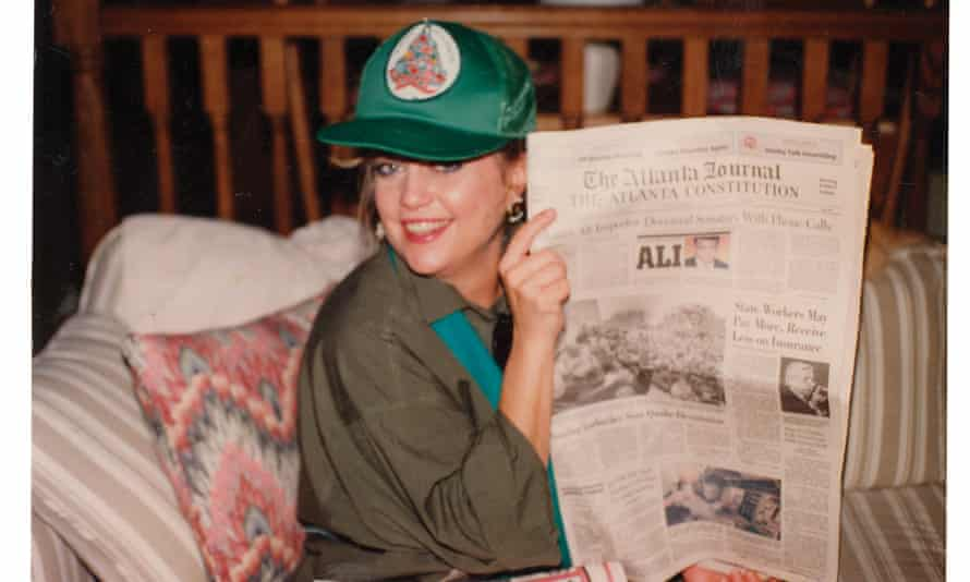 The journalist Kathy Scruggs, who died in 2001.