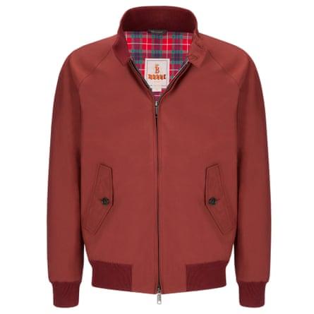 Christened by Simons … the Harrington jacket.