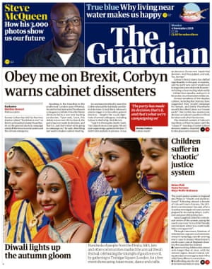 Guardian front page 041119