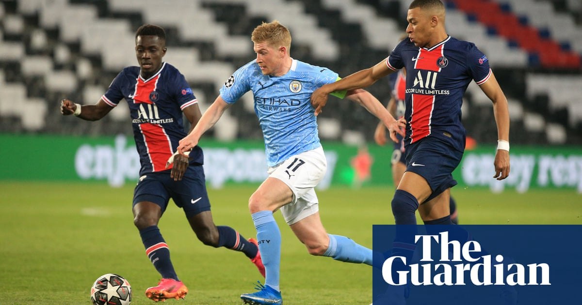 Pep Guardiola dons de-thinking cap to turn game around with De Bruyne | Barney Ronay