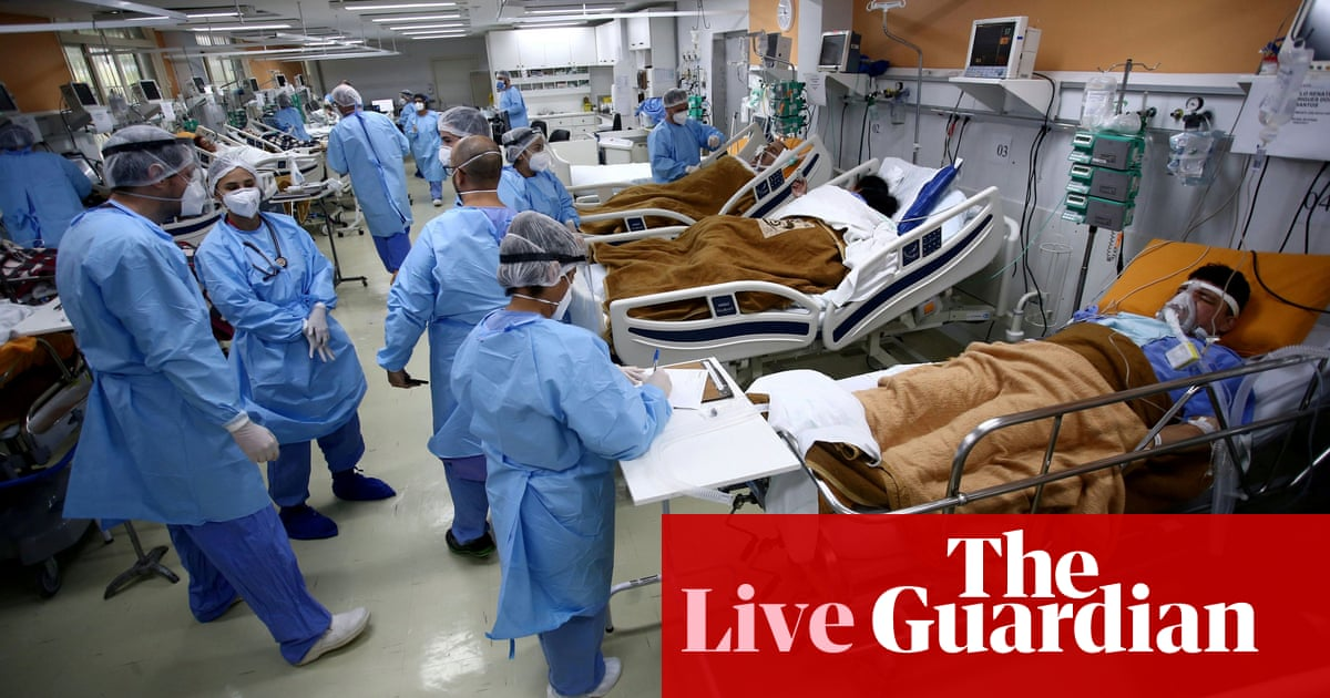 Coronavirus live news: Japan to expand quasi-emergency measures; Brazil 'running out of sedatives'