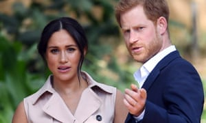 Meghan the duchess of Sussex and Prince Harry