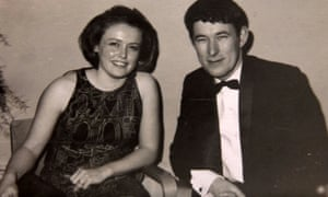 Seamus Heaney with Marie when they were young