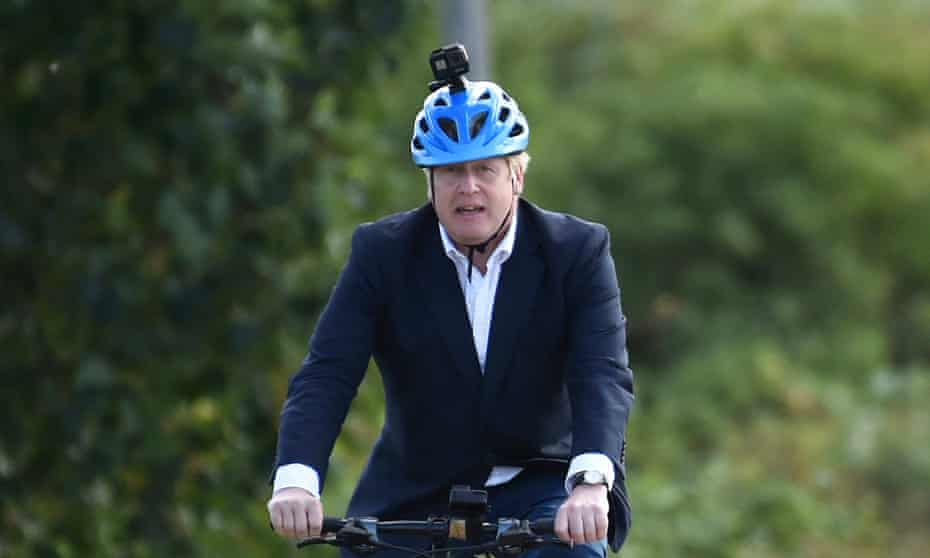 Boris Johnson has been criticised for exercising seven miles from his home amid a growing row over possible tougher new lockdopwn rules