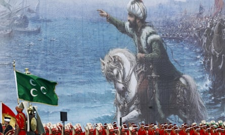 A ceremony in 2015 marks the 562nd anniversary of the conquest of Istanbul by Ottoman Turks.