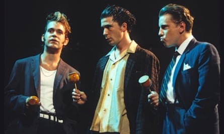 Tom Hollander, Aidan Gillen and David Westhead in Mojo.
