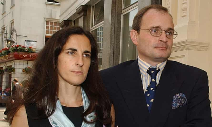 Major Charles Ingram and his wife, Diana, arriving at Bow Magistrates court