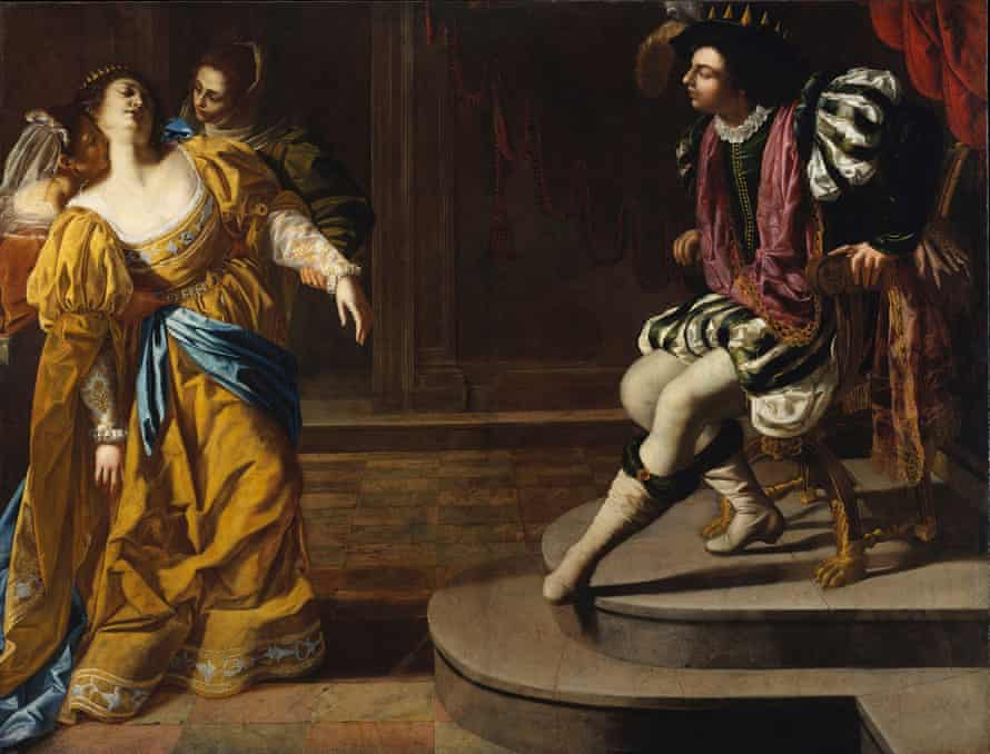 Esther before Ahasuereus, about 1628-30, Artemisia Gentileschi.