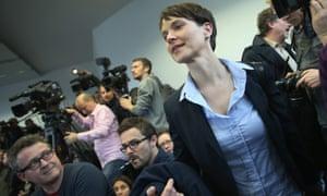 Frauke Petry,AfD(AlternativefürDeutschland)的领导人。