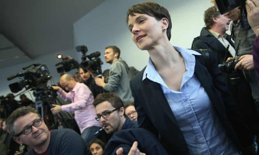 Frauke Petry, leader of of the AfD (Alternative für Deutschland).