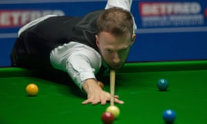 Judd Trump is racing towards the semi-finals in Sheffield after taking a 7-1 lead over Stephen Maguire.